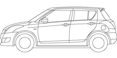4tユニック車のCADデータ | Jw_cadの使い方